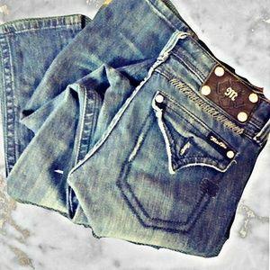 Miss me skinny dark wash jeans